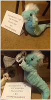 Wizard101 - Ice Wyvern Plushie by HesperCambrie