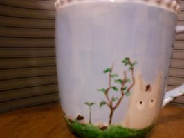 Totoro mug side 2 by steady-vertigo