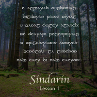 Learn Sindarin - Lesson 1 by nichalia
