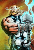Thor for color battle by KYLE-CHANEY