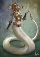 Annunaki Lamia by ArTGutierrez by ravenwood0713