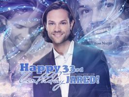 Happy 33rd Birthday, Jared! by Nadin7Angel