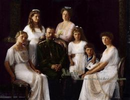 The Romanovs - Imperial family by VelkokneznaMaria