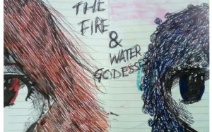 fire and water by Shannarawolf