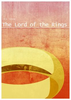 Lord of the rings poster by BlueWizardCz