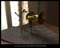 accustic calculator by ReginaldBull