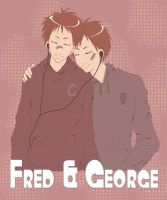 -HP- Fred n George by korilin