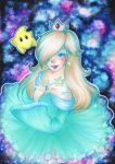 Princess Rosalina - Copic Marker Illustration by pixelartlinda