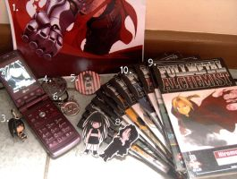 My FMA Collection - 2010 by wonderlandgiirl