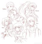 Symphoria: OC sketches 2 by Zue