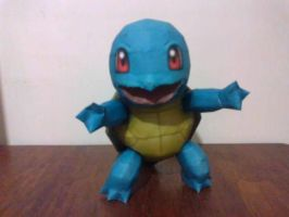 Squirtle - Papercraft by anacrayola