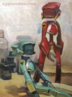 FLCL Canti Still life by ushio18