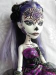 spectra day of the dead girl by AdeCiroDesigns