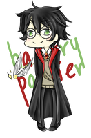 Harry Potter by iondra