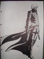 Devil May Cry 2 Dante by MANGA-drawer1