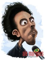 CARICATURE 'MORRE DIABO' by alemarques21