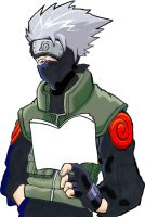 Kakashi Reading by Danhte