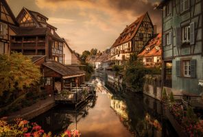Little Venice, Colmar, France by nickhighfields