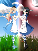 Alice twins by artistlaura