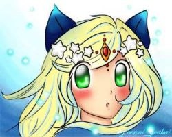 Benna on gaia once more by SilverInuYoukai