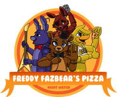 Freddy Fazbear's Pizza Logo by BoopBear