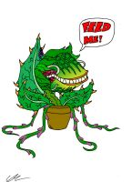 Audrey II: Feed Me by EUAN-THE-ECHIDHOG