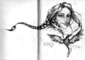 the mockingjay within by cherryclaires