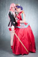 'I'll Protect You' - Utena and Anthy Cosplay by OxfordCommaCosplay