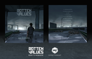 Rotten Values - Road To Nowhere // Cover Design by ExitMothership