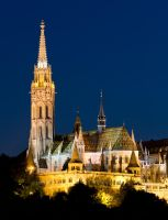 Matthias Church by kalmarn