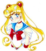 Super Sailormoon a by GreenInkling