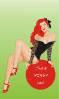 pin up girl by LittlePan