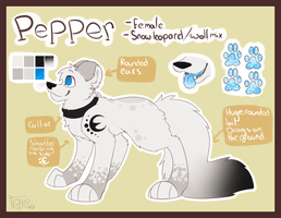 Pepper referance by Pokepaws by Lockian