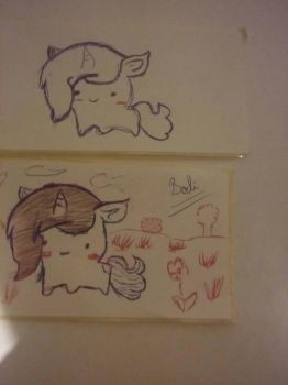 Unicorn stickers by DannyMB