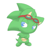 Chibis of the Sonic Universe - Scourge by xShadilverx