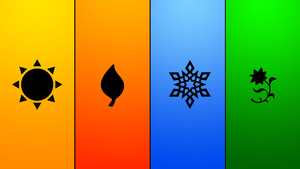 Minimalist Seasons by CreativeZodiac