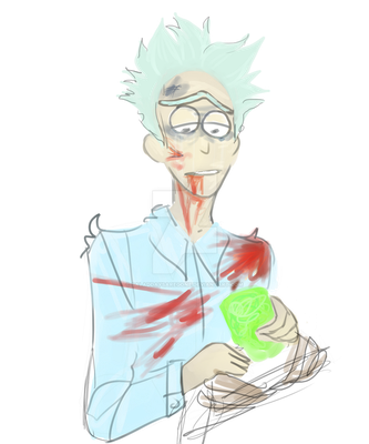 hows that new rick and morty episode? by SaladDaysAreGone