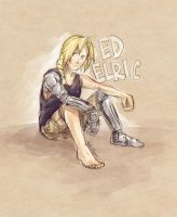 Contest Prize - Ed Elric by rockinrobin