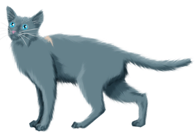 Bluestar by RainbowStarCat