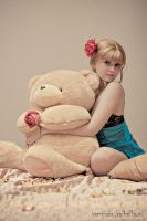 Beato, candies and teddy bear by lucien-fleurier