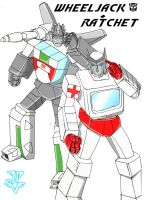 TF - Wheeljack+Ratchet - RQ by JP-V