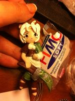 Riven League of Legends Handmade Polymer Clay by DarkettinaMarienne
