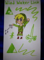 Wind Waker Link by airbornewife71