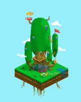 Pixel art Adventure time by Dehtyar