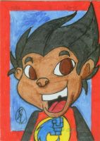 Sketch card Ray Ray by culdesackidz