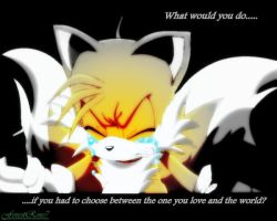 Tails' Decision by ForestRose7