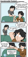 Questionable Content Fanart by AngelzRfalling