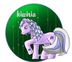 kiwiria ponified by Squigglz