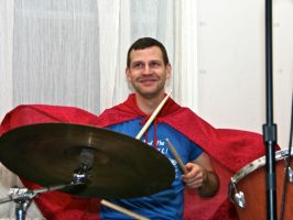 Superdrummer by Photoninja