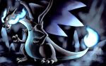 Mega Charizard/Lizardon X by Maou-MaoXD
